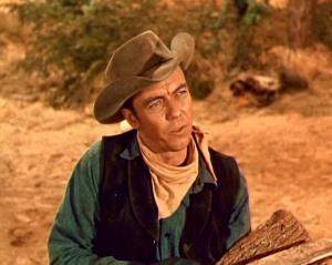 My Father no the set of Bonanza